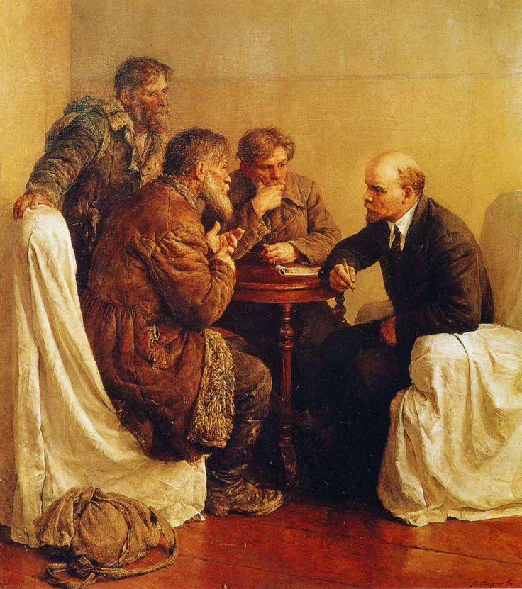 Vladimir+Serov+-+Peasant+Petitioners+Visiting+Lenin.JPG 1,245×1,407 pixels