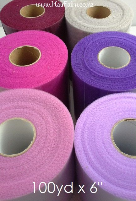 100yd tulle roll