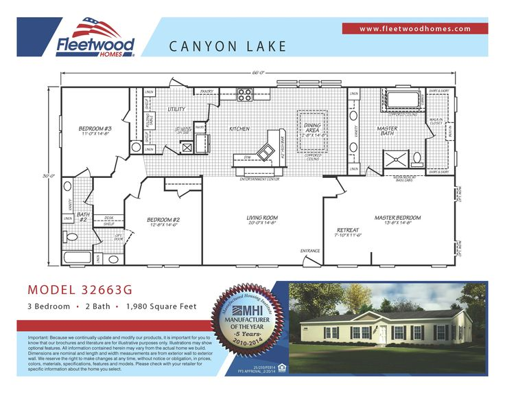 25 best Manufactured Homes images – Waverly Mobile Homes Floor Plans