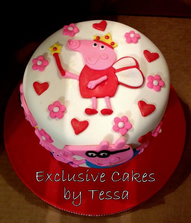 Peppa Birthday Cake