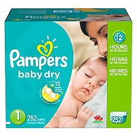 Pampers Baby Dry Diapers (Choose Your Size) - Sam's Club