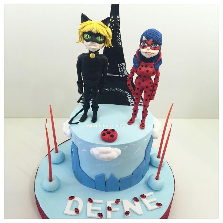 Lady Beetle Birthday Cakes