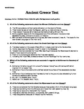 Essay on ancient greece