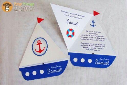 Invitación Barco