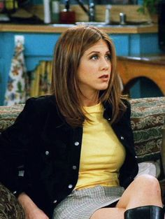 rachel from friends season three hair