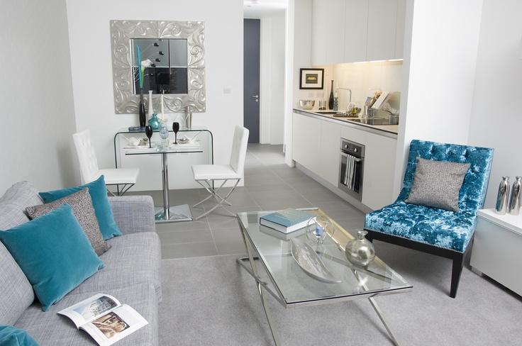 Modern and sociable living space #livingroom #Lakeshore