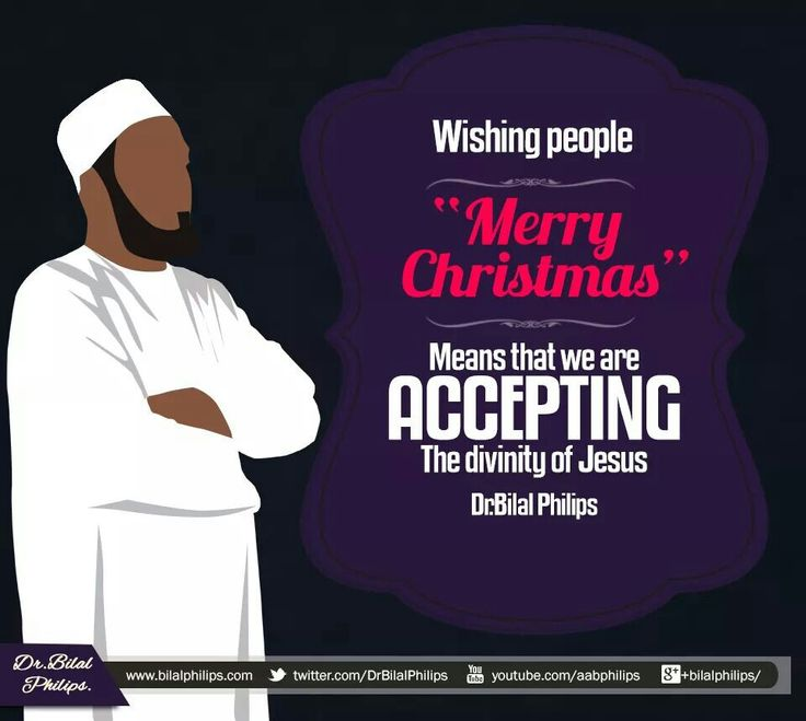 """Because, wishing Merry Christmas is akin to saying, """"Happy celebrating the birth of God's son and yes, I believe in la ilaha illaAllah (there is none worthy of worship but Allah) and that He has no son, but I still want to congratulate you for believing otherwise…"""" Remember, being kind to someone is alright but adopting their beliefs is not okay. A major and essential part of our religion is to maintain our distinct identity when it comes to beliefs and to disassociate ourselves from every…"""