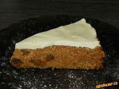Zdravý koláč z ovesných vloček s tvarohem