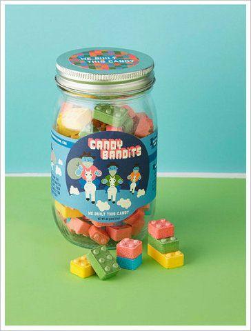 Candy Bandits - candy legos?