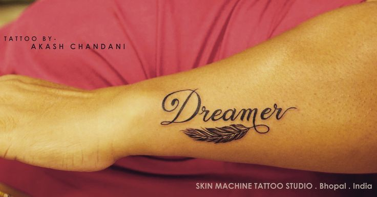 Dreamer..   Tattoo designed by Akash Chandani at Skin Machine Tattoo Studio   Thanks for looking :)  Your views , comments and shares would be appreciated !  Follow - Skin Machine Tattoo Studio Insta- @the_inkmann