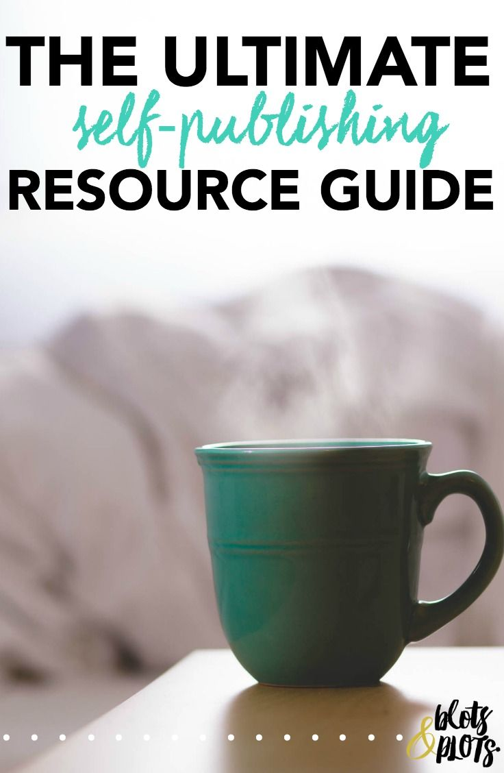 Looking to self-publish your novel? Make your life easy with this comprehensive self-publishing resource guide!