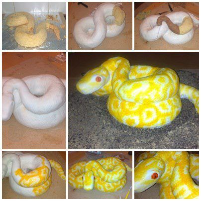 How To Make A Snake Cake Step By Step