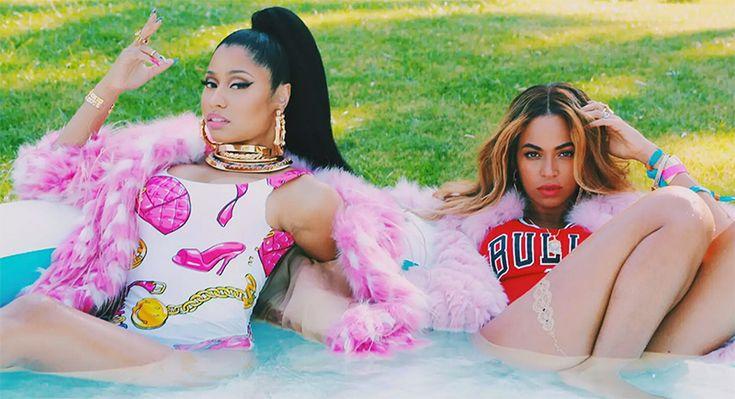 Beyonce and Nicki Minaj just dropped a video on Tidal   Feeling Myself   NYLON