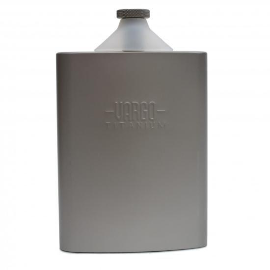 バーゴ チタニウム ファンネル フラスク VARGO TITANIUM FUNNEL FLASK チタン製 スキットル | UTILITY Outdoor Select Shop