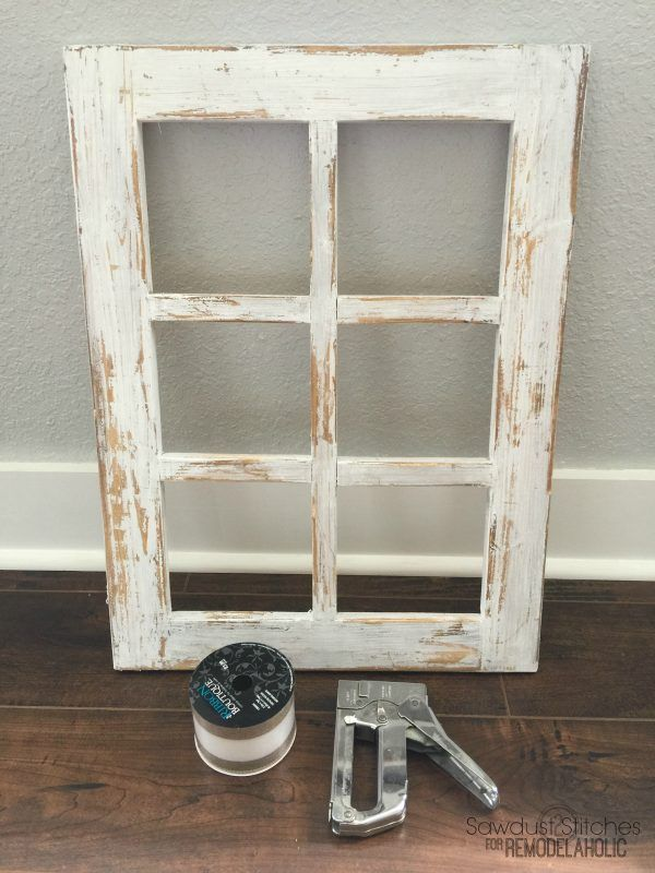 How To Build A Decorative Window Frame From Just One Board