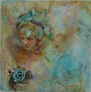 Views: 441  Average rating:    VIEW FULL SIZE: Gel Medium, Paper Doilies, Art Inspiration, Agreements, 2014 F W, Altered Art, Blue Coupon, Acrylics Paintings, Art Tutorials