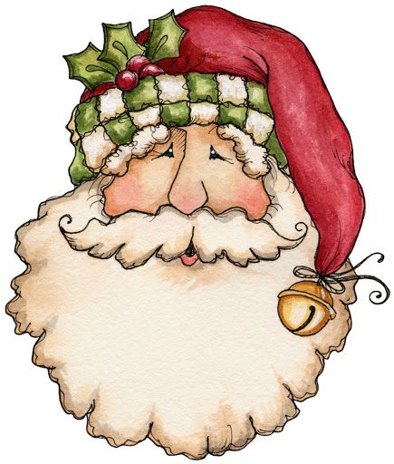 """Laurie Furnell - """"Santa"""" - 435 x 512 px"""