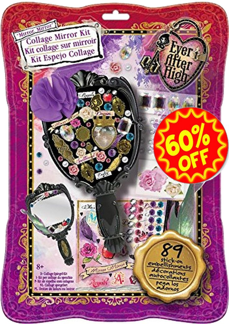 Fashion Angels Ever After High Collage Mirror Kit Ages: 8 – 15 Decorate a hand…