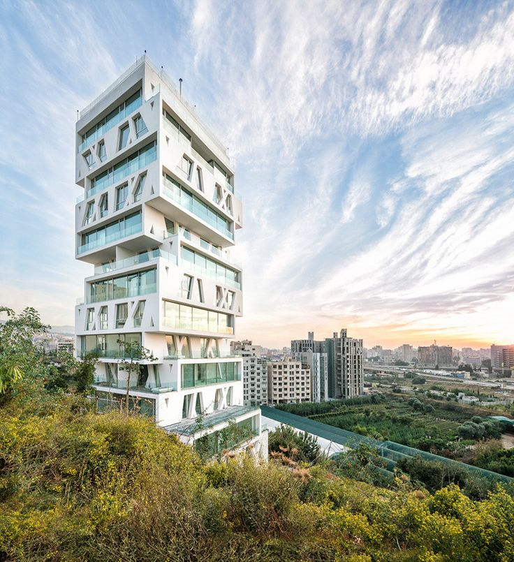 The Cube by Orange Architects: Made From 14 Unconventionally Stacked Floors — #Architecture via @contemporist