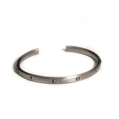 Bracelet black rhodinated - Jane Kønig