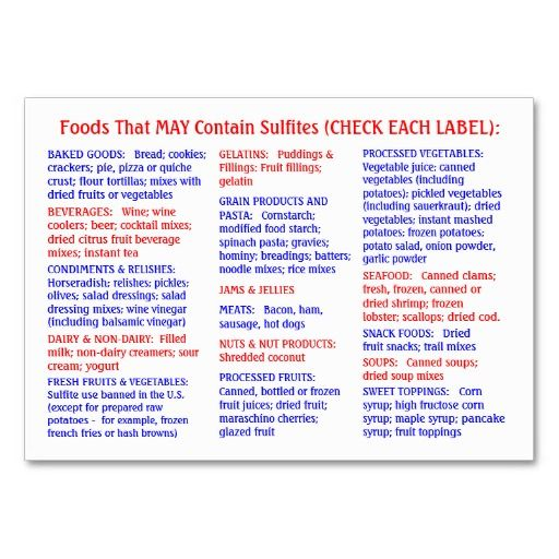 Highest Sulphur Containing Foods