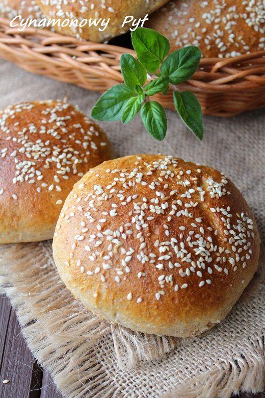 Bułki hamburgerowe pszenno-żytnie
