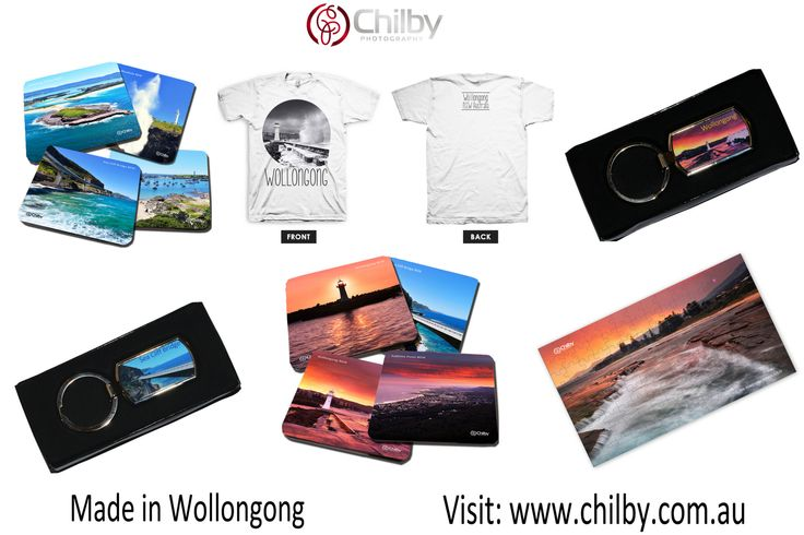 Local Illawarra Gifts, Made in Wollongong! Premium Australian Quality.  Visit: http://chilby.com.au/souvenir-shop