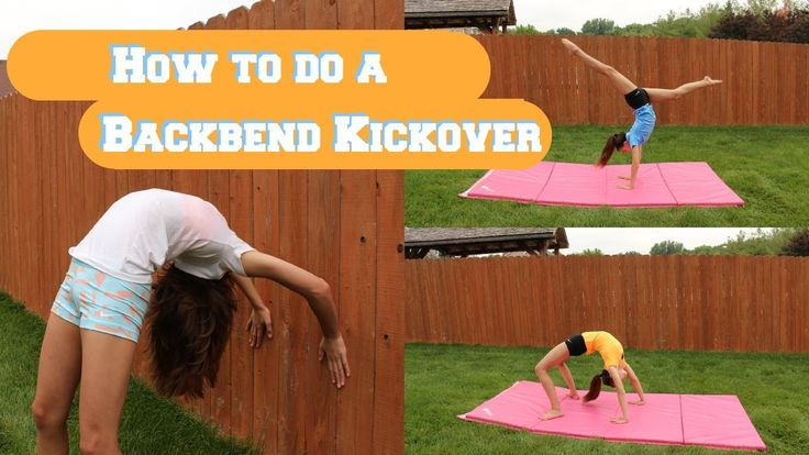 How To Do A Back Bend Kickover