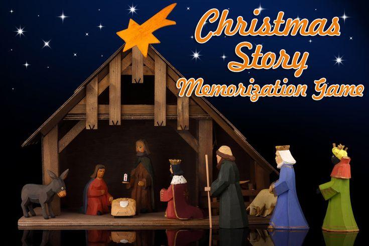 """""""Christmas Story Memorization"""" Christmas Game"""