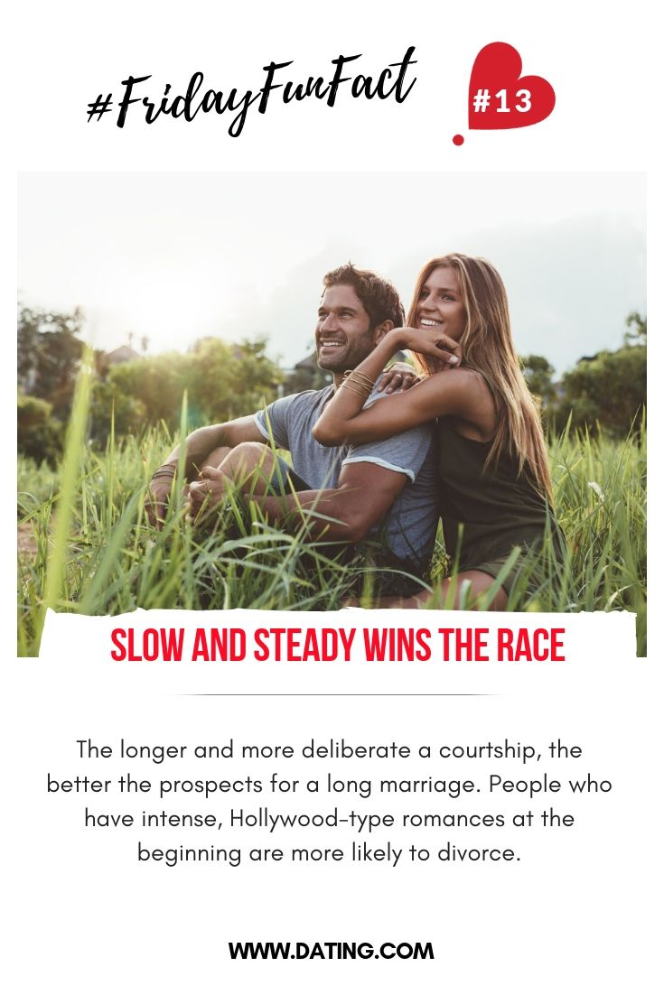 Slow and steady dating dating code words