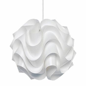 """Dining room light fixture. Funny, the salesgirl, asked, """"This is not a popular one"""".  uh huh.  That's the idea."""