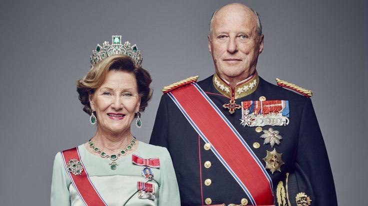 25 ÅR: 17. januar feirer dronning Sonja og kong Harald 25 år på tronen.