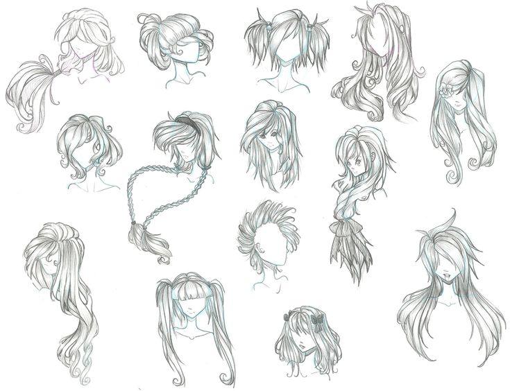 anime+boy+with+curly+hair | anime hair by Aii-Cute