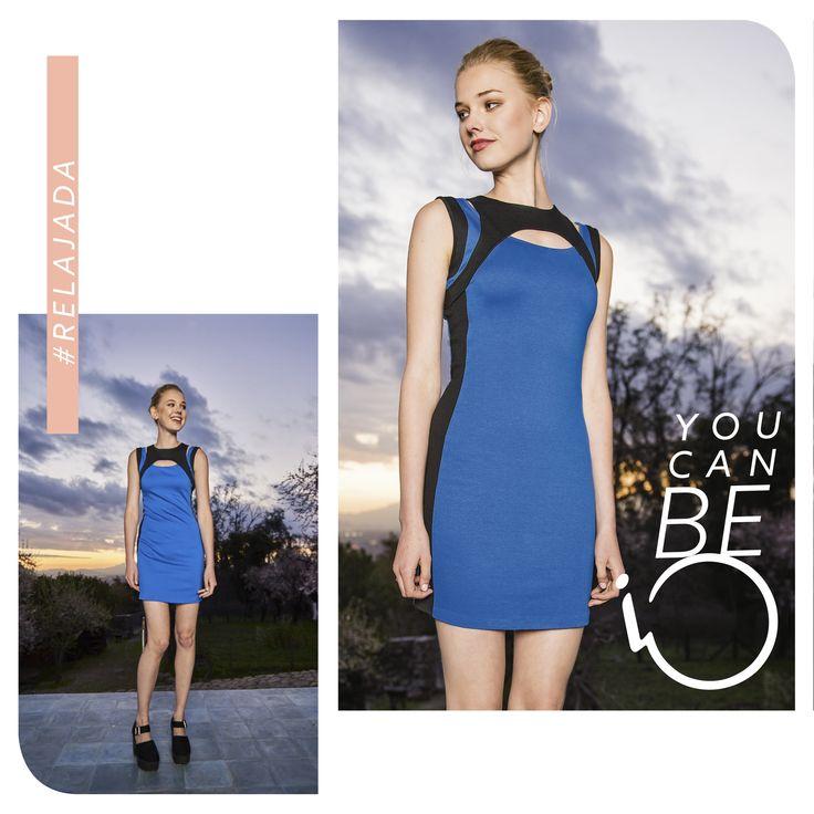 Mezcla tu estilo propio con las mejores prendas de esta temporada, porque en www.iochile.cl #YouCanBe todo lo que quieras esta primavera.                                                                     Encuentra el vestido aquí: http://iochile.cl/catalog/product/view/id/10011/category/121/