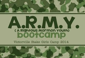 The Modern Polkadot: LDS Girls Camp review & themes!