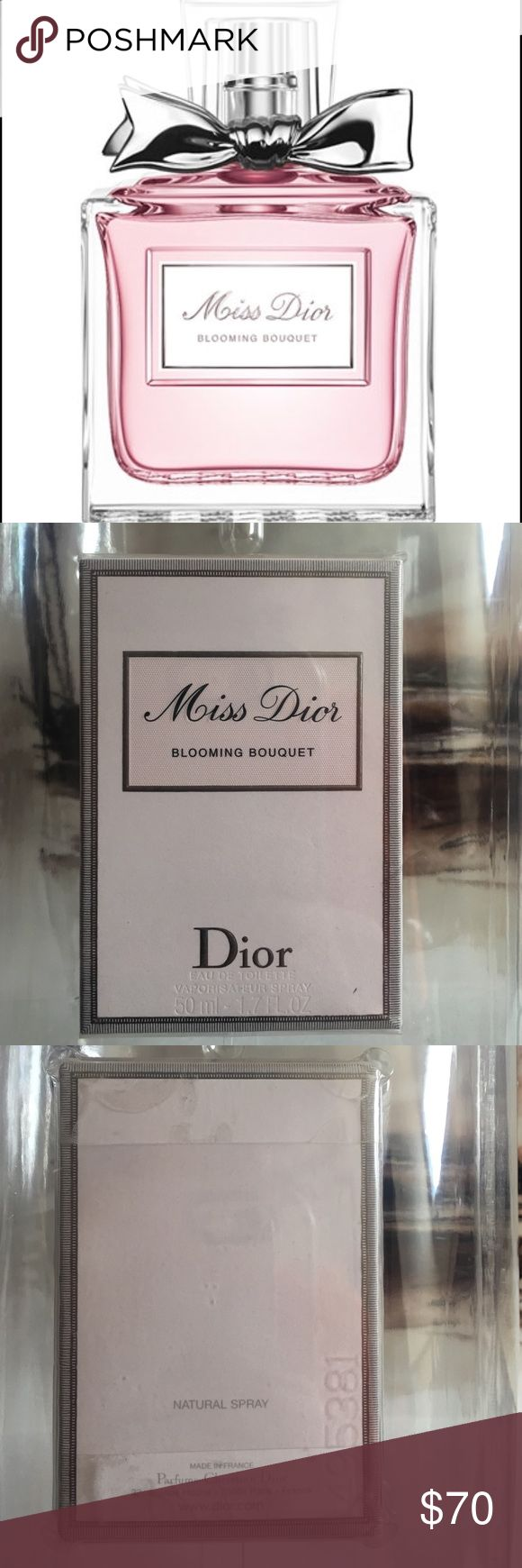 NWT 💯Authentic 🎀Miss Dior Perfume🎀 💯Authentic 1.7 oz Miss Dior Perfume by Christian Dior. Brand New still in original packaging with plastic protective cover. Great Christmas gift. Retails in the stores for $80+ tax ▶️Price Firm 🚫Trade Christian Dior Other