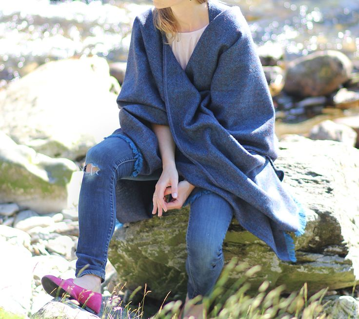 Outfitpost: Mit dem Wollponcho in Snowdonia | Lady-Blog