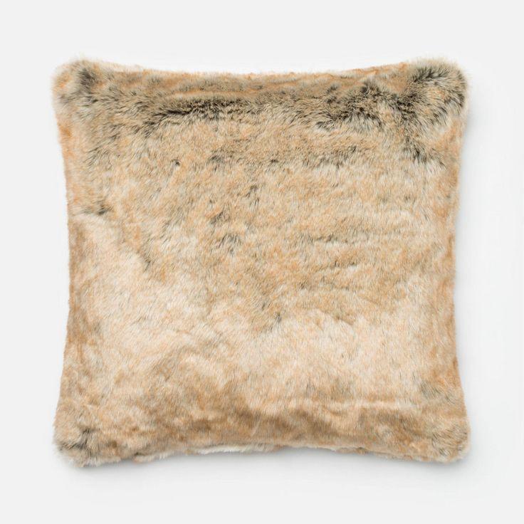 Beige Pillow 22 X 22