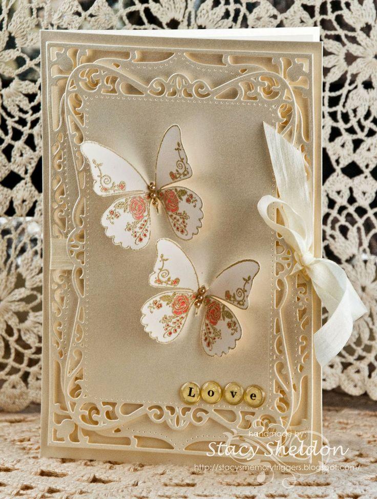 Днем рождения, скрап открытка свадьба золотая