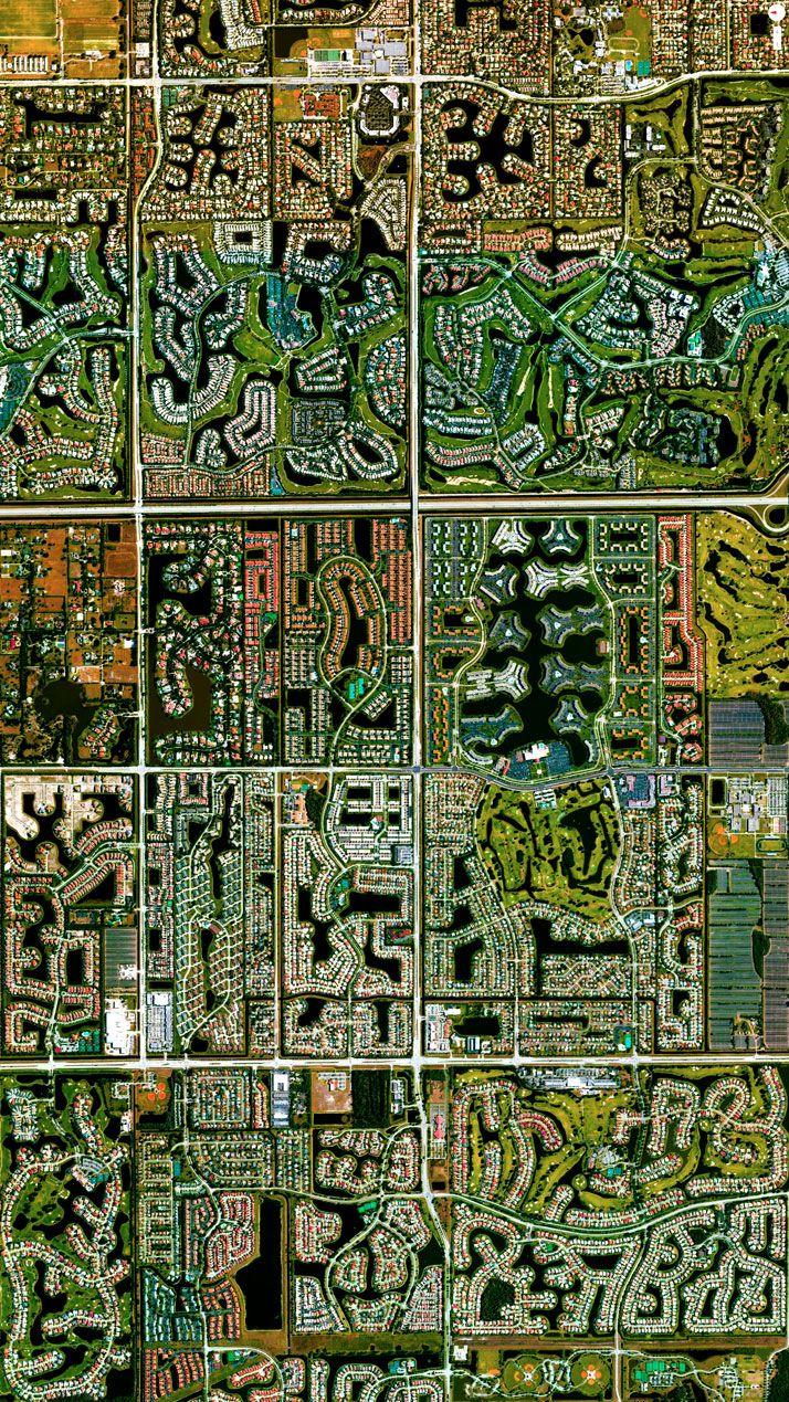 Boca Raton, Florida, USA. http://www.yatzer.com/daily-overview