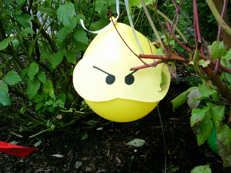 Gartendeko für Ninja Party