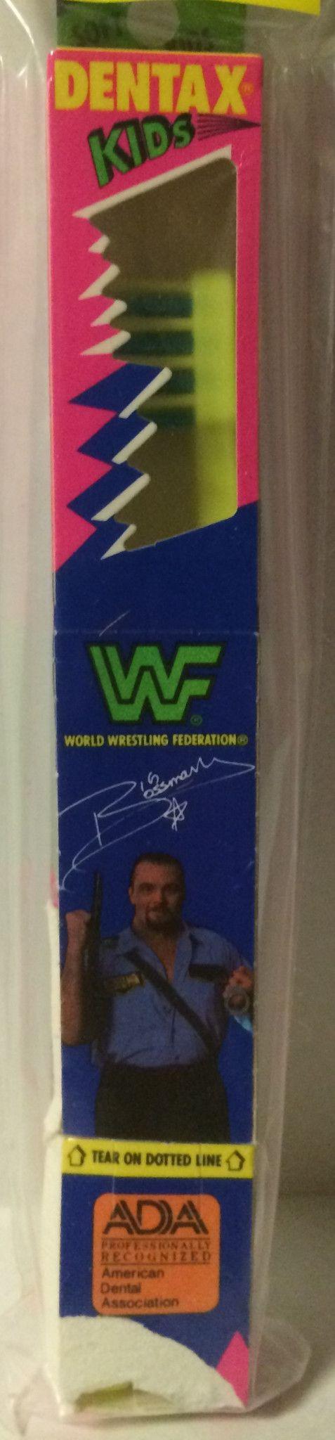 (GBS04605) - WWF WWE WCW nWo Wrestling Dentax Kids Toothbrush - Big Boss Man