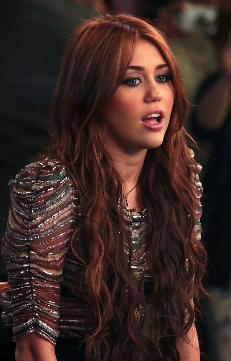 miley cyrus red hair color | Cheveux (Hair) Stylios I Want ...