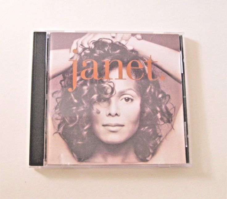 Janet. by Janet Jackson CD 1993 Virgin Records R&B Pop Thats The Way Love Goes #PopRB