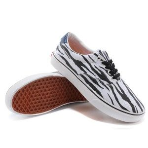 Vans Shoes White Melon Print Era Shoes Unisex Classic Canvas