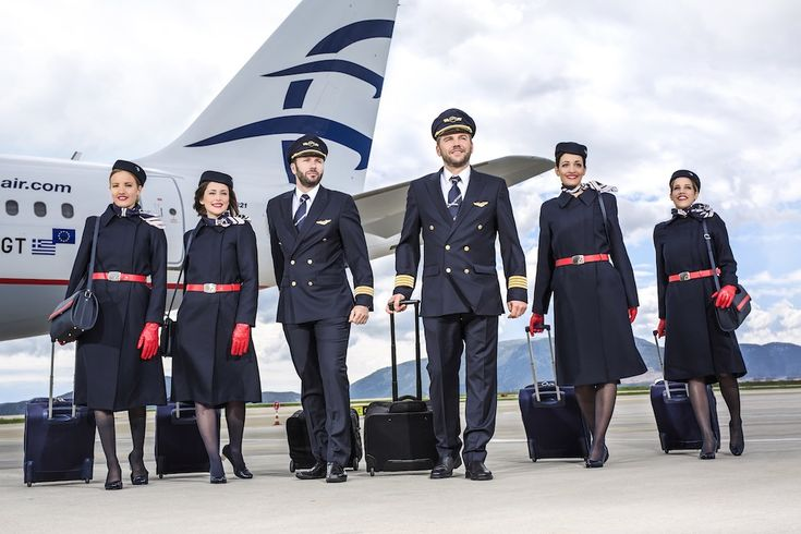 Equipage Aegean Airlines (Grèce)