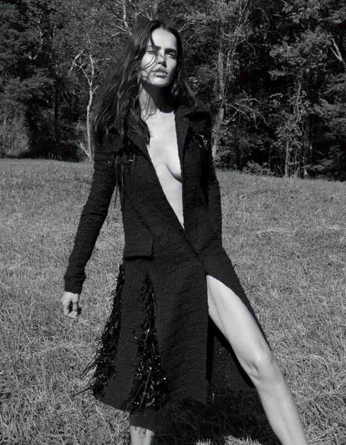 Amanda Wellsh Wears Pure Elegance By Alexandra Nataf For RUSSH Magazine Fall 2016