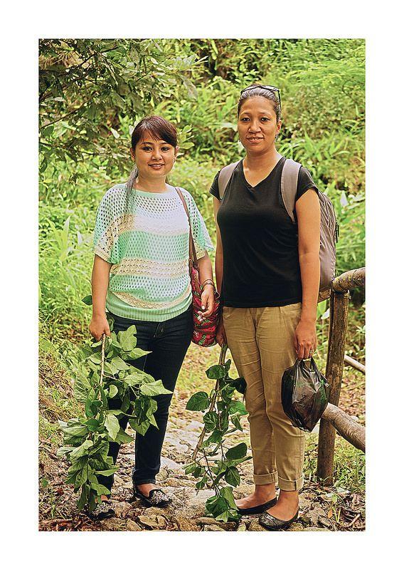 Poonam & SK at Tathagata Farm…