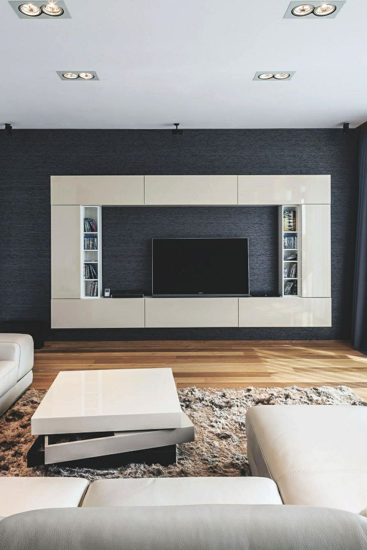 interior tv wall design notable spaces pinterest