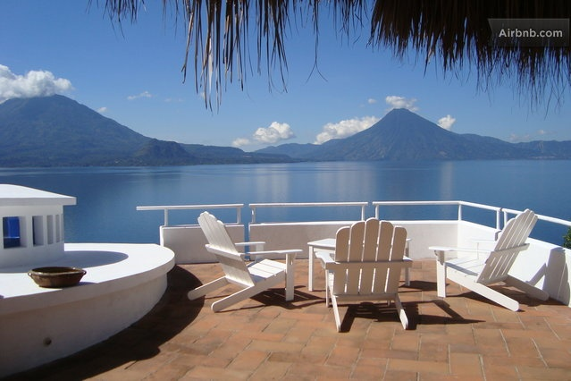 Luxury with Volcano view Panajachel, Solola, Guatemala